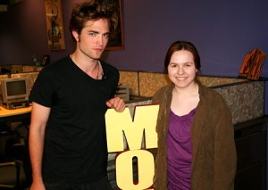 Robert Pattinson & MTV guest blogger, Laura C