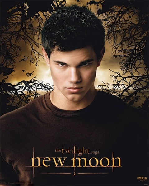 Taylor Lautner as Jacob Black - New Moon Poster - Photo Courtesy of NewMoonMovie.org