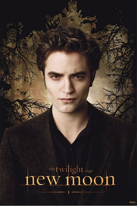 Robert Pattinson as Edward Cullen - New Moon Movie - Photo Courtesy of NewMoonMovie.org