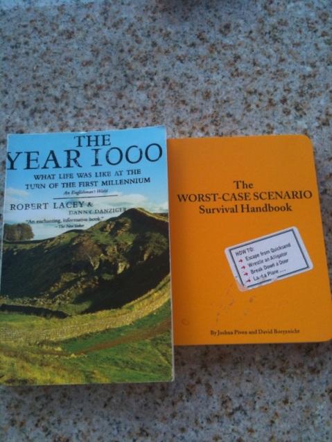 2 book she sent along w/#NewStoliShirt - Photo Courtesy of MyRobertPattinson.com