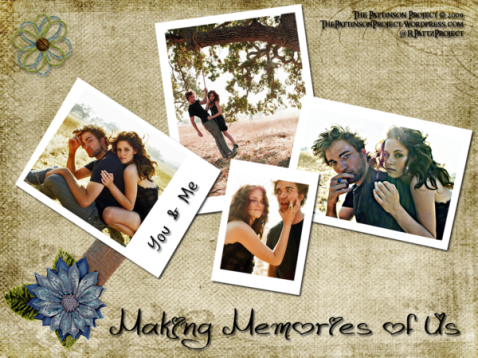 Wallpaper:  Robsten:  Making Memories of Us