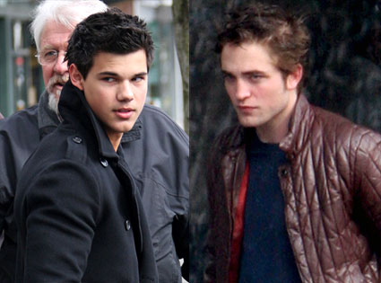 Taylor Lautner - Robert Pattinson - Photo Courtesy of EOnline.com