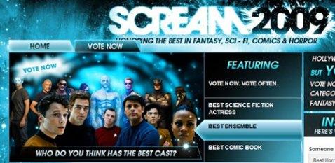 Spike TV's Scream 2009 Awards - Courtesy of Spike TV