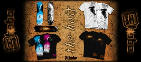 Official 'The Host' Apparrel ONLY @ Hobo Skate Co