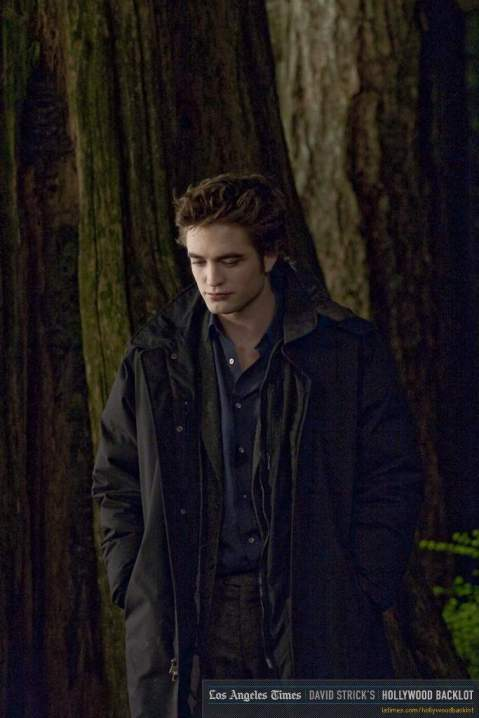 Robert Pattinson as Edward Cullen - New Moon - Photo Property of LA Times
