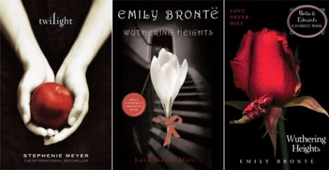 Twilight-inspired Weathering Heights Book Covers - Photo Courtesy EW.com