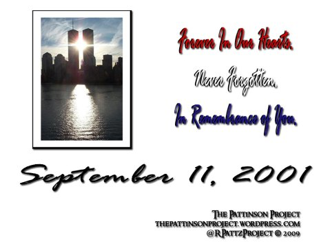 9/11 Memorial Wallpaper - Exclusively @ The Pattinson Project