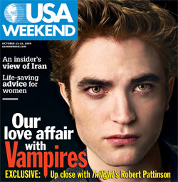 Robert Pattinson - Photo Property of USA Weekend
