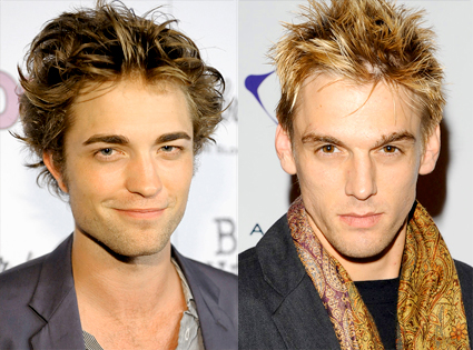 Robert Pattinson, Aaron Carter