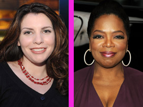 Stephenie Meyer, Oprah Winfrey - Photo Property of MTV.com