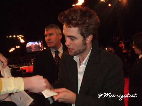 Robert Pattinson - New Moon London Fan Event - Photo Property of @Marystat