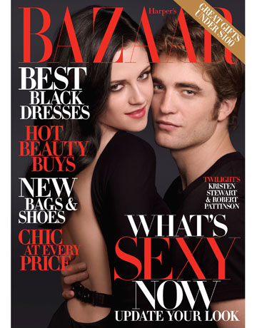 Kristen Stewart & Robert Pattinson - Photo Property of Harper's Bazaar