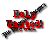 Help Wanted @ The Pattinson Project!